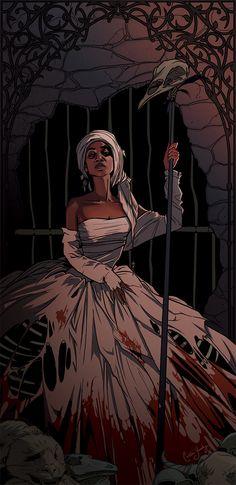 """fyblackwomenart: """" Caitlin Yarsky - Nouveau LaVeau- Voodoo Queen """""""