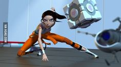 If Portal was made into a Pixar movie