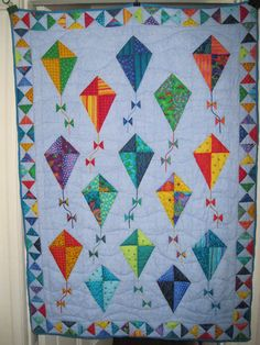 Fly a kite quilt (someday when I'm better with triangles.)