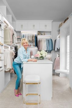 California Closets provides a range of unique and beautiful custom closets, closet organizers, and home storage systems for any room in the home. Make A Closet, Closet Store, Master Closet, Walk In Closet, Shoe Closet, Celebrity Closets, Celebrity Style, Closet Lighting, California Closets