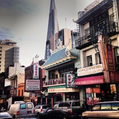 Sightseeing in Chinatown