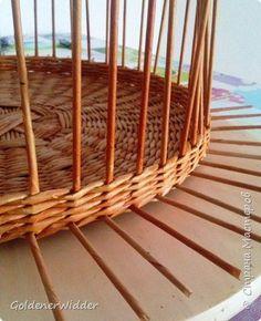 Мастер-класс Поделка изделие Плетение Внутренний бортик у крышки Трубочки бумажные фото 5:
