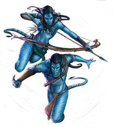 Avatar fanart by YamaOrce on deviantART