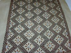 Embroidery Stitches, Embroidery Designs, Stitch Design, Blackwork, Needlepoint, Diy And Crafts, Bohemian Rug, Applique, Cross Stitch