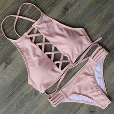 Summer Bathing Suits, Cute Bathing Suits, Summer Suits, Bathing Suits For Teens, Sexy Bikini, Bikini Swimwear, Pink Bikini, Bikini 2017, Women Bikini