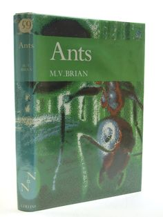 ANTS (NN 59) Brian, M.V.. Illustrated by Riley, Gordon. New Naturalists series