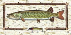 Birch Musky Painting
