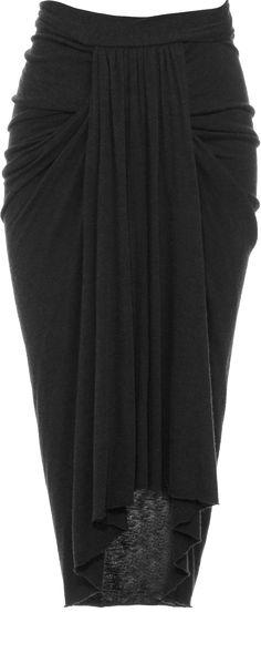 Rick Owens - Flannel Skirt