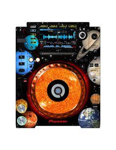 Pioneer CDJ 2000 Remix Art Contest Djs love art too and artists love music. Pioneer Cdj 2000, Pioneer Dj, Dj Remix, Dj Equipment, Consumerism, House Music, Dance Music, Love Art, Audio