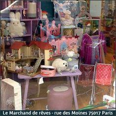 Minikane® chez LE MARCHAND DE RÊVES, 45 rue des Moines, 75017 PARIS. Tél : 01.42.29.34.04.