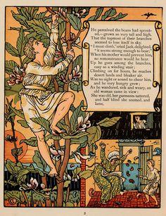 Walter Crane, 1874 Jack and the Bean Stalk janwillemsen