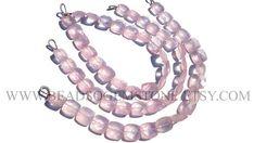 Rose Quartz Square Faceted Beads Quality AA 5 to 9.5 mm  #rosequartz #rosequartzbeads #rosequartzbead #rosequartzsquare #squarebeads #beadswholesaler #semipreciousstone #gemstonebeads #beadsogemstone #beadwork #beadstore #bead