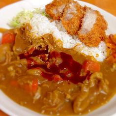 Japanese Curry, Japanese Food, Looks Yummy, Junk Food, Chili, Soup, Dishes, Ethnic Recipes, Rice