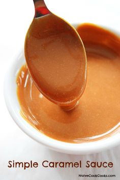Basic Caramel Sauce Recipe — Dishmaps