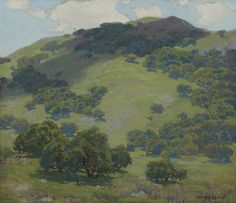 Edgar Payne (1883-1947) Capistrano Canyon oil on canvas 24 X 28 in.
