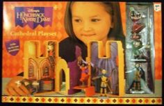 Mattel - Disney's - The Hunchback of Notre Dame - Cathedral Playset - Toy Action Figures