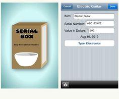 Mobile app serial finder