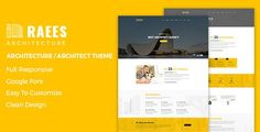 Raees ¨C Creative Responsive Architecture Theme by Plus-Theme Raees ¨C Creative Responsive Architecture Themeis perfect if you like a clean and modern design. This Theme is ideal for architects