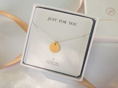 Just For You, Gold Necklace, Jewelry, Gold Pendant Necklace, Jewlery, Jewerly, Schmuck, Jewels, Jewelery