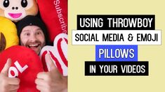 Using Throwboy Social Media & Emoji Pillows in your Videos - YouTube
