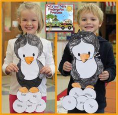 Kelly and Kim's Kindergarten Kreations: Penguin Palooza! (freebies, ideas, and a giveaway)