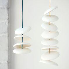 Bougies lampions S/3 à bascule par PigeonToeCeramics sur Etsy