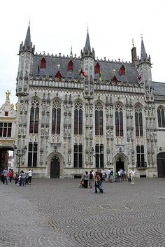 Town Hall of Bruges (the last name of Bridges is derived from this town)