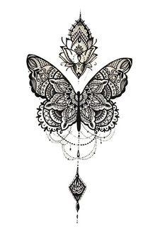 par Medly Tanya Lepper tanyalepper Lace sleeve tattoos Butterfly tattoo illustration tatouage d&;un papillon féerique avec une […] butterfly tattoo Tattoos Skull, Spine Tattoos, Dope Tattoos, Body Art Tattoos, Hand Tattoos, Small Tattoos, Arm Tattoo, Tatoos, Celtic Tattoos