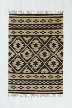 cool patterned rug