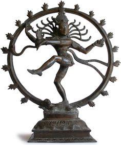 Antique Indian Bronze Nataraja  [Lord Shiva]  the Dancer