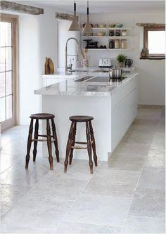 Floor tiles - blenheim grey