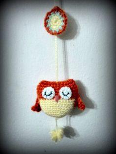 Búhos Crochet - $ 25,00