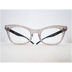 Vintage Cat Eye Frames in Black Aluminum / Clear by BibbysRocket, $134.00