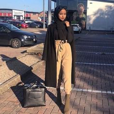 Hijab Fashion 626141154429979865 - Source by ChaiimaAlg Modest Fashion Hijab, Modern Hijab Fashion, Street Hijab Fashion, Hijab Casual, Hijab Fashion Inspiration, Muslim Fashion, Modest Outfits Muslim, Modesty Fashion, Fashion Ideas