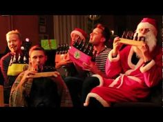 Santa Claus Is Coming To Town on Beer Bottles - by Bottle Boys - YouTube