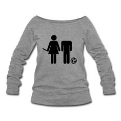 Fußball - Anti - Paar Pullover | Spreadshirt | ID: 12522429