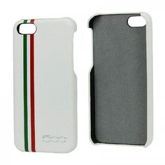 Fiat Back Case Carbon White voor Apple iPhone 5S / 5