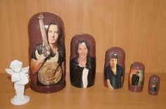 Rick Springfield FAMOUS Matryoshka nesting russian doll stacking 5pc 7 | eBay