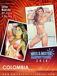 MISS COLOMBIA PACIFICO Y CARIBE 2016 - LINA BALVIN