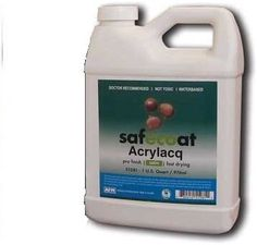 Afm Safecoat Acrylacq Gloss, Clear 32 Oz. Can 1/Case - Household Varnishes - Amazon.com