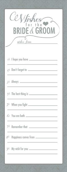 This would be a cool guest book type thing. Have everyone fill one out at the reception as drop it in a box on the way out and assemble them later