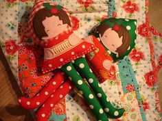 More Christmassy Dolls by ImAGingerMonkey, via Flickr