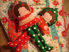 More Christmassy Dolls by ImAGingerMonkey, via Flickr