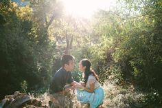 Mountain engagement pictures.  Vis Photography.
