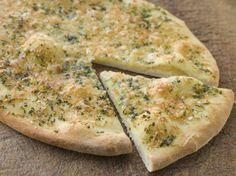Cesnakové pizza chleby