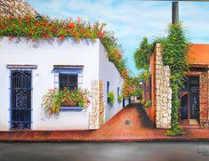 Intramuros Coloniales; desde el pincel de Aneury Castillo Velez