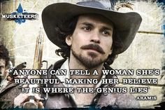 Seduction, by Aramis #The Musketeers