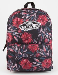 VANS Black Dahlia Realm Backpack