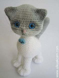 Amigurumi Jointed Cat Pattern by Denizmum on Etsy