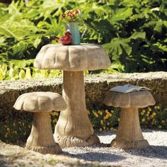 Outdoor Mushroom Table and Stools  $99.00 - $199.00